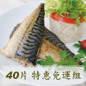 冰原鮮魚急凍 挪威薄鹽鯖魚片